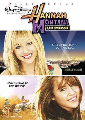 HANNAH MONTANA:MOVIE BY HANNAH MONTANA (DVD)