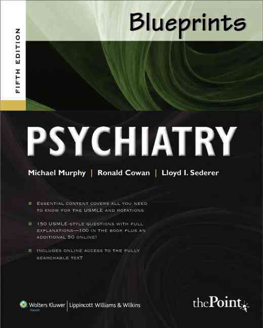 Psychiatry By Murphy, Michael J./ Cowan, Ronald L., M.D.